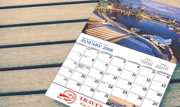 T-AA221 Destination Dreams Wall Calendars